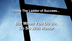 climb the ladder of success