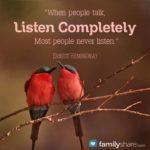 Be a GREAT Listener