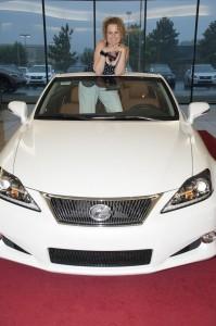 Melinda in Lexus
